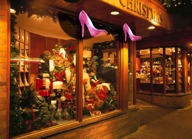 クリスマスむけのガラスイルミネーション3Dホログラム