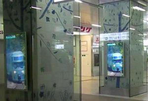 博多駅デジタルサイネージ